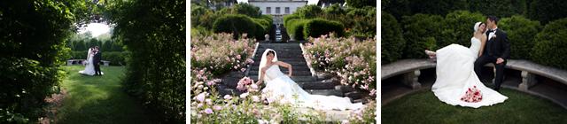 Wedding photos taken at Villa Terrace