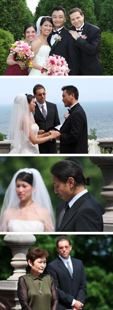 Photos of our wedding party
